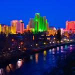 Reno Nevada skyline night
