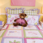 girls bedroom teddy bear