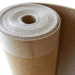 cork floor underlayment roll