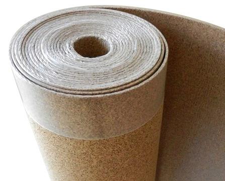 cork floor underlayment roll
