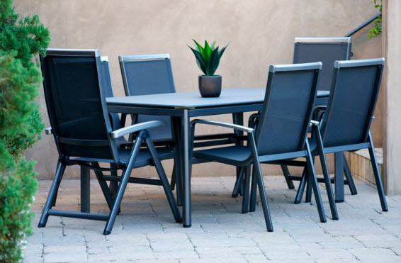 Mayaro Dining Sets - Aluminum Medium (Ideal for 6 Seats)