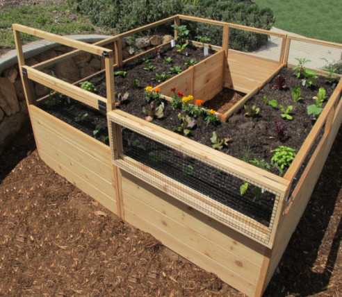 raised garden bed kit