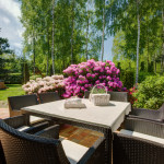 stylish backyard garden patio furniture