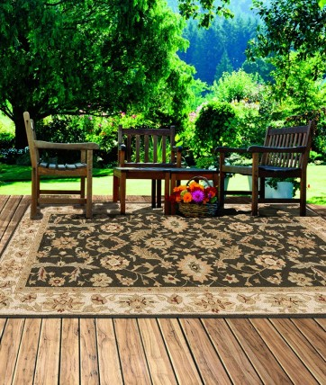 Moss green outdoor area rugs