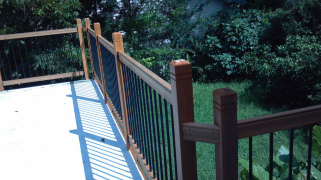 railsimple wood deck railing system