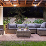 outdoor room pergola patio furniture
