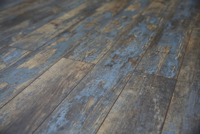 Distressed flooring the look and feel of a lived in floor for Distressed wood flooring