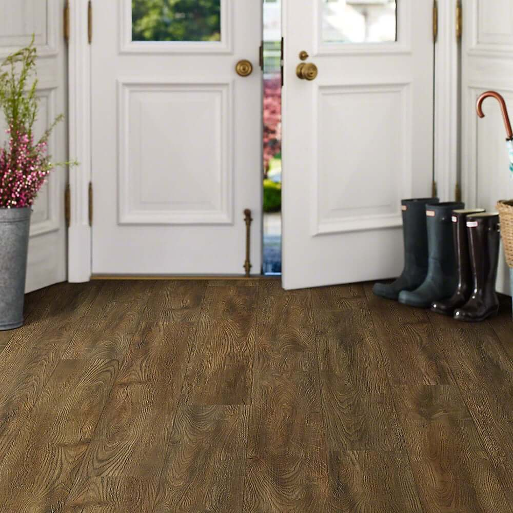 Shaw vinyl flooring classico latte columbia resilient for Columbia laminate reviews