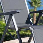 Mayaro Beach Pool Lounge Aluminum Chaise Loungers with End Table