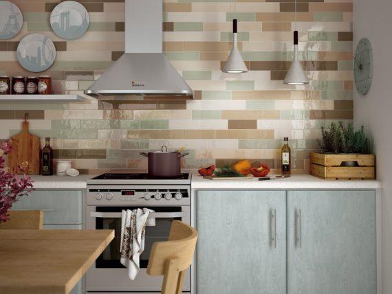 Wall tiles and mosaics