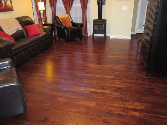 Acacia golden walnut mazama hardwood