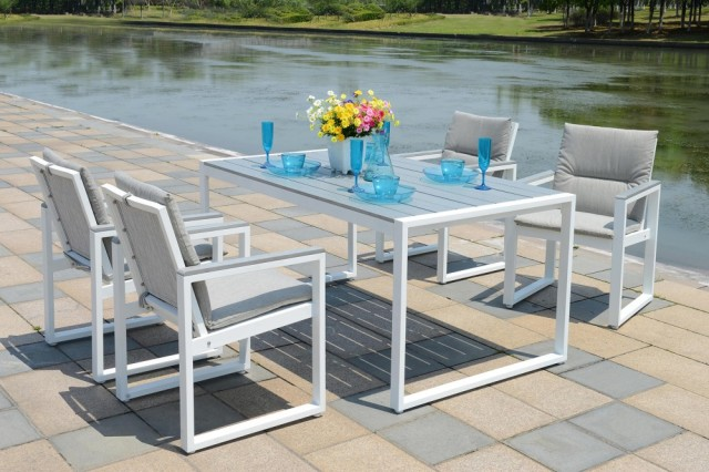 Patio furniture 5 set dining set Kontiki Positano BuildDirect