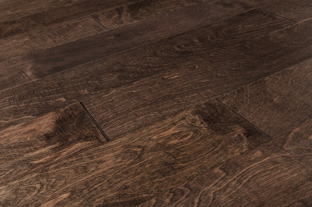 Distressed Handscraped hardwood