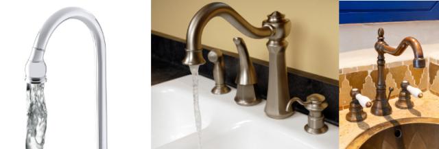 chrome vs nickel vs brass faucet