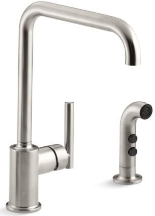 kohler side spray faucet
