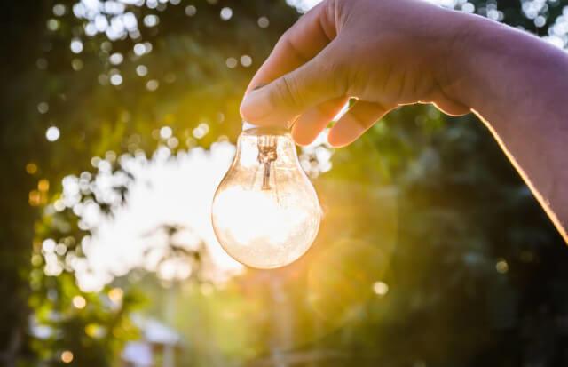 solar light bulb