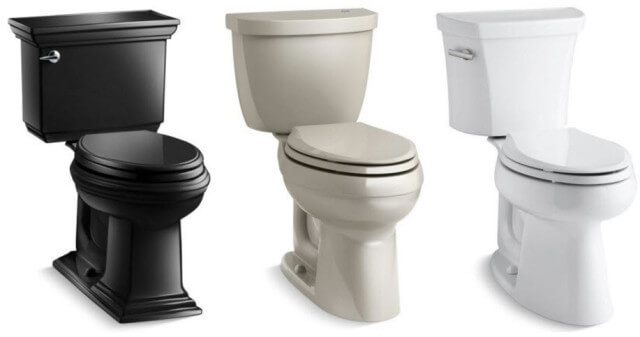 kohler comfort height toilets