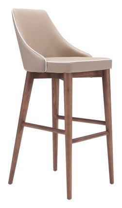 beige bar chair