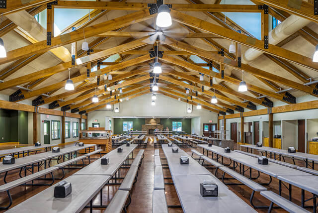 Boy Scouts of America, Camp Kia Kima Dining Hall by ANF Architects