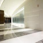tiled lobby