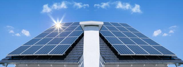 solar panel roof