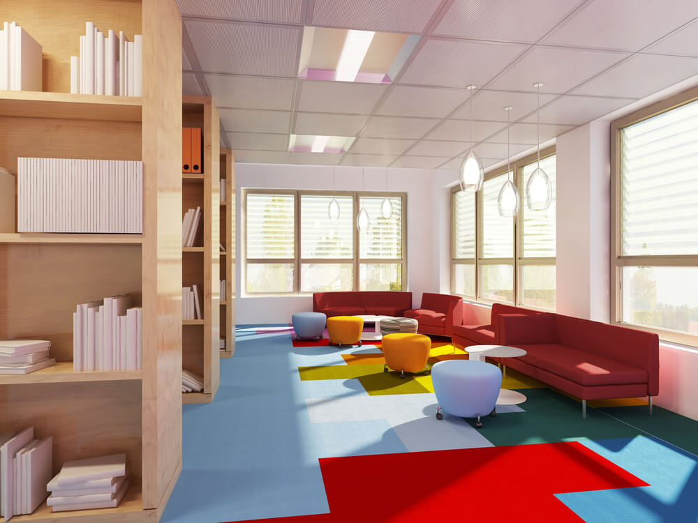 Carpet Tile Your Commercial Office Flooring Solution