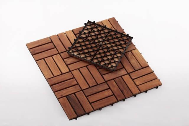 Nordic Style Teak Tiles SKU: 15076126