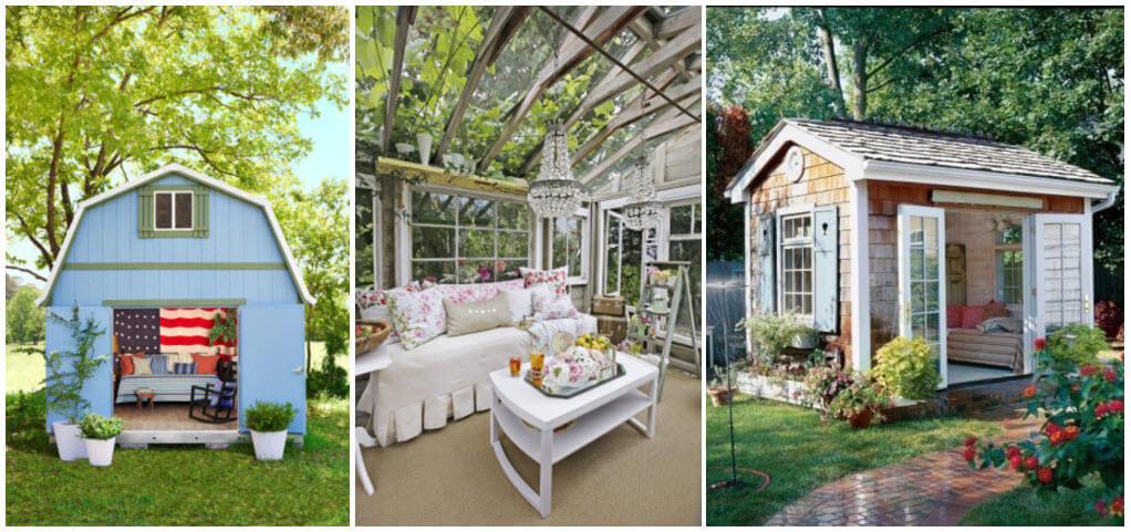10 tips for creating your very own she shed for Country living house plans you can buy
