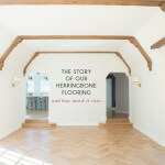 the story of our herringbone flooring
