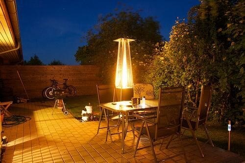 table top outdoor heater