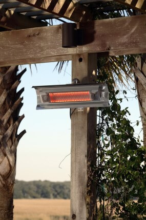 Kontiki Fire Sense Stainless Steel Wall Mounted Infrared Patio Heater  SKU: 10097731