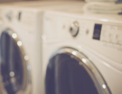 close up washer and dryer