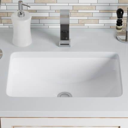 MR Direct Porcelain Undermount  SKU: 15195550