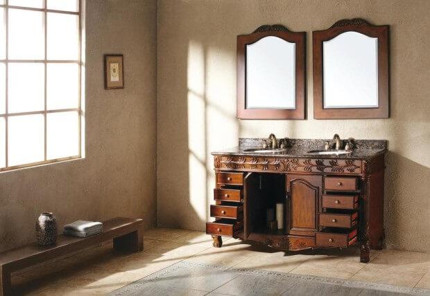 James Martin Furniture Traditions Granite and Cherry SKU: 15065648