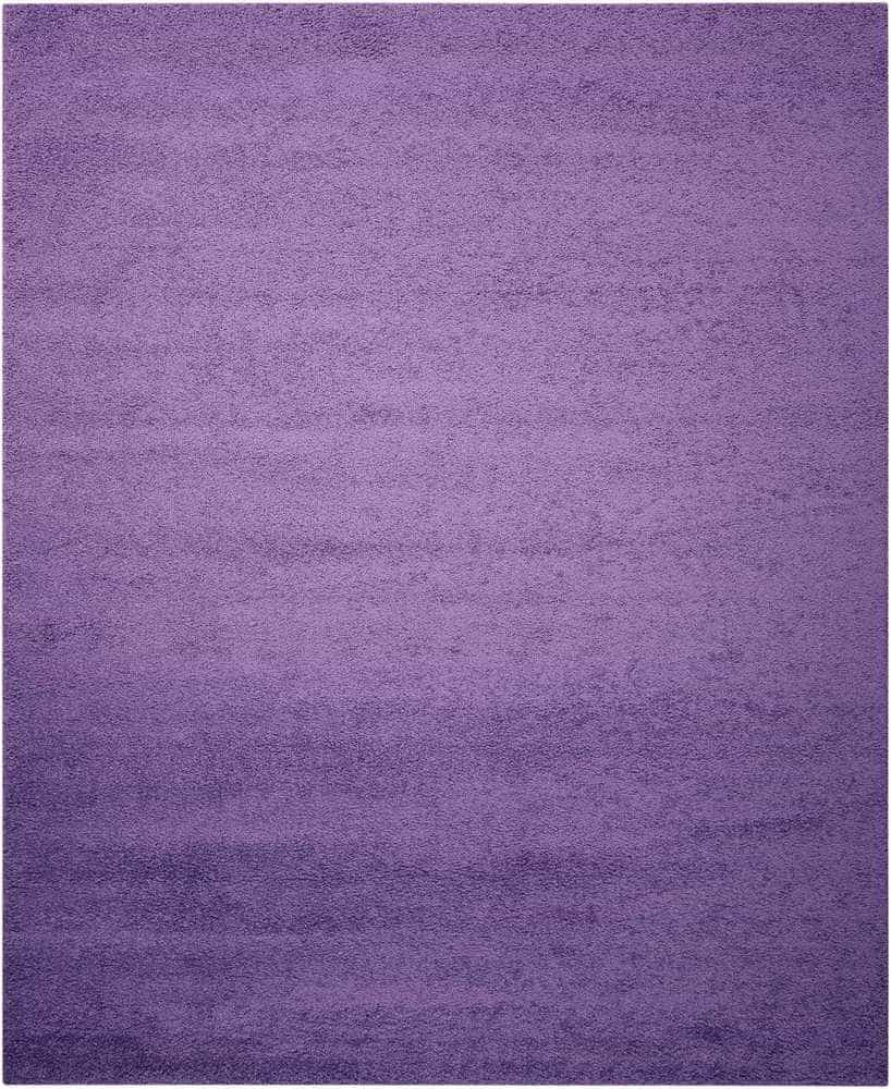 Nourison  Light Violet Shag Area Rug SKU: 15123296