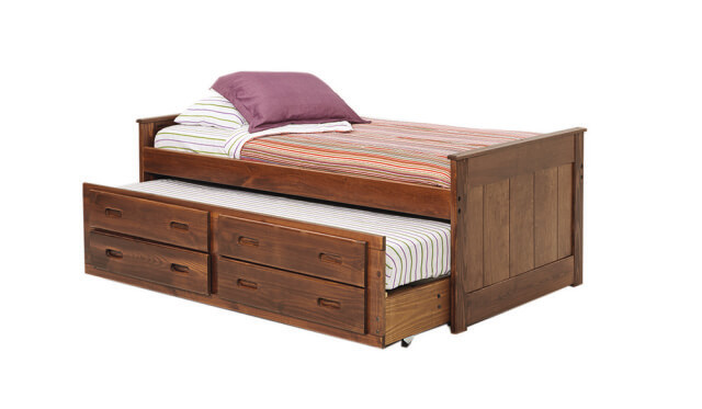 Woodcrest Heartland Captains Bed w/ Trundle  SKU: 15237224