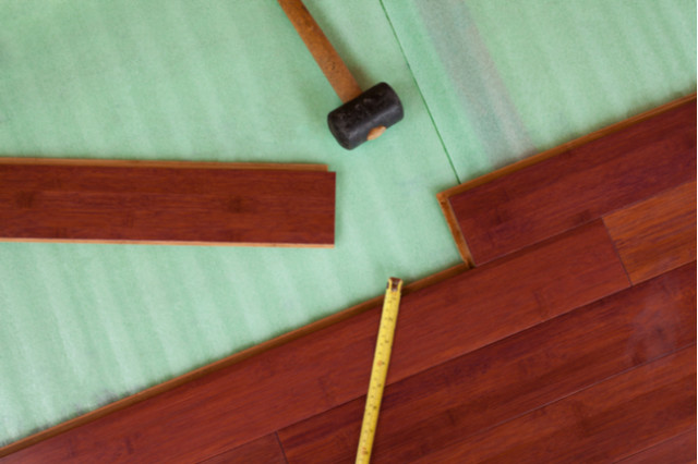 underlay and wood floors