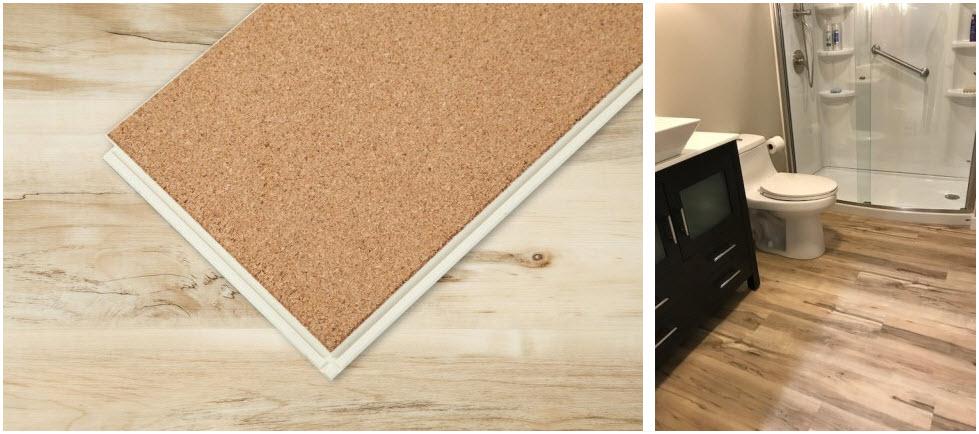 Vesdura Vinyl Planks - 7.5mm WPC Click Lock - WaterGuard Collection SKU: 15163560