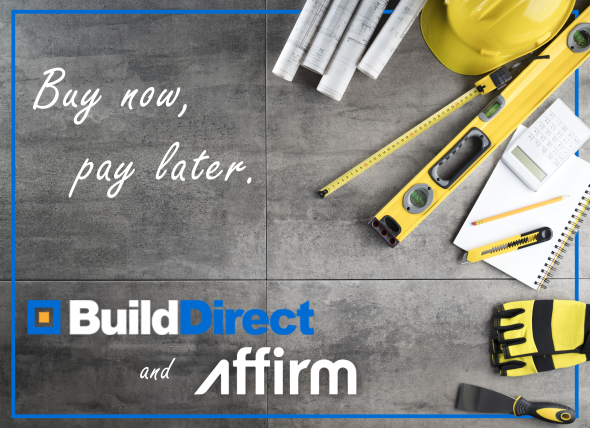 builddirect and affirm