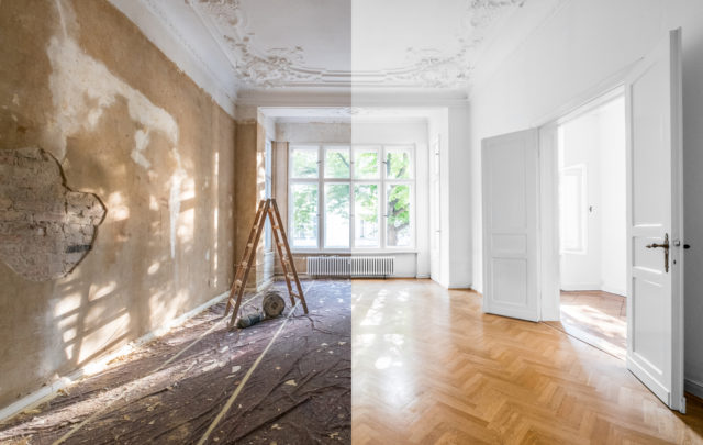 Home renovation health hazards