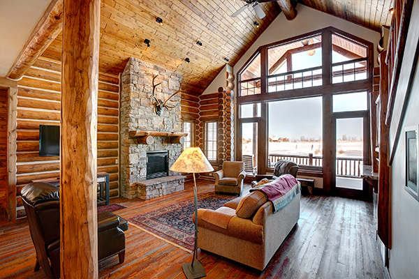 decorate your mountain cabin