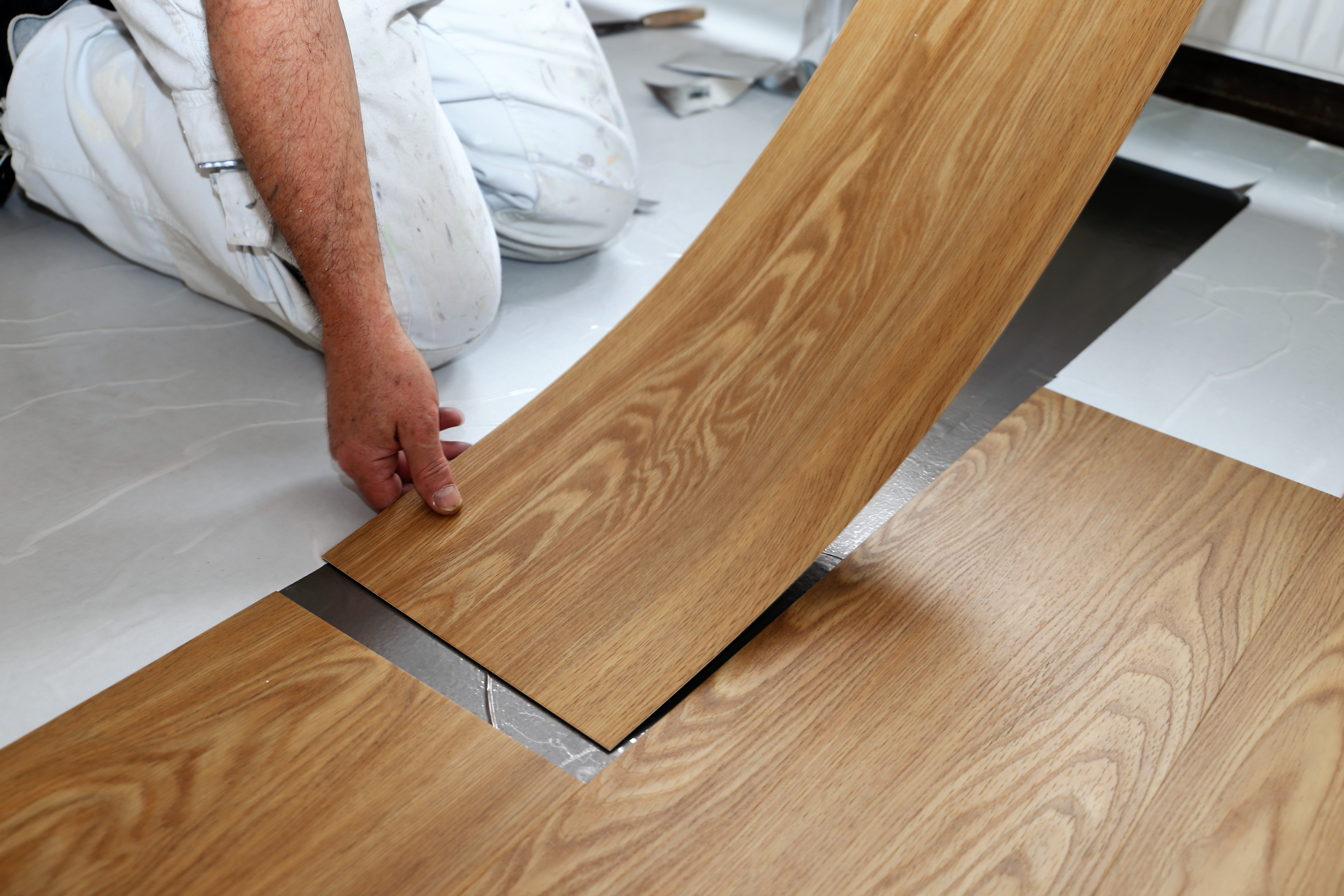 Peel And Stick Vinyl Flooring The Pros And Cons Builddirect Blog