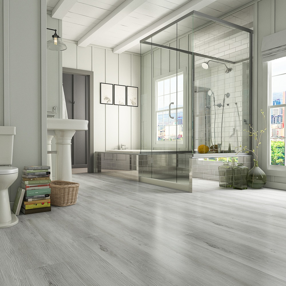 Luxury Vinyl Flooring and Other Vinyl Options for Your Bathroom |  BuildDirect® Blog