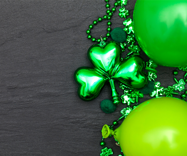 Decorate St. Patrick's Day