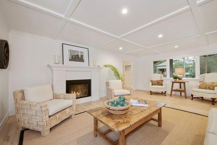 hardwood living room floor