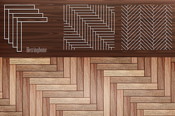 Herringbone Laminate Flooring Easy Opulent And